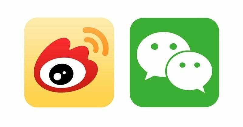 wechat vs weibo-diferencia